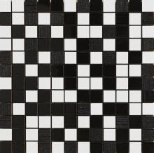 Aparici Acces Black Mosaico Decor  30x30cm